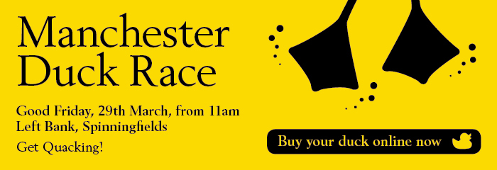 Manchester Duck Race, 29th March